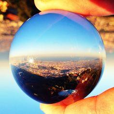 Barcelona from Tibidabo! Barcelona, Catalonia   Europe