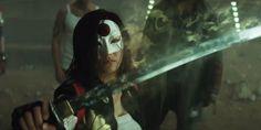 Surge into 7 new Suicide Squad shots of Killer Croc, Katana and The Joker Katana, Movies And Series, Dc Movies, Films, Teaser, Tatsu Yamashiro, Jay Hernandez, Amanda Waller, Leto Joker