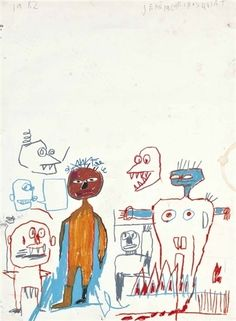 Jean-Michel Basquiat, 'Untitled'