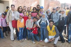 Rabat Agdal Riad and Rabat Espoir Jeunesse Leo Clubs Morocco - Leos sponsored a trip to a zoo for 500 students from disadvantaged families.
