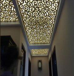 Ажурные декоративные решетки на потолок