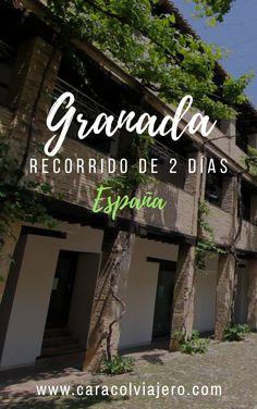 Un recorrido por Granada en 2 días con precios, alojamientos y gastronomía #Granada #España #viajes Granada, Travel Guides, Travel Tips, Medieval Castle, Spain Travel, Things To Do, Places To Visit, Around The Worlds, Tours