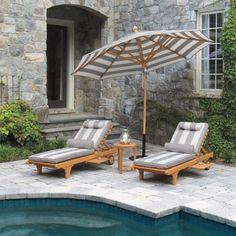 Chaise Cushion Backyard Bliss Outdoor Chaise Cushions