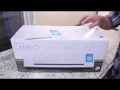 New Silhouette Cameo (2014) Review and Set-Up - YouTube