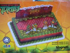 Teenage Mutant Ninja Turtle Cake... if you know me, you know why this is funny!