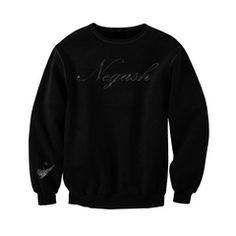 hoodless sweatshirt