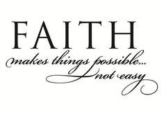 Faith Wall Decal   www.decalmywall.com