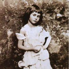 Alice Liddell, the little girl who inspired Alice in Wonderland.