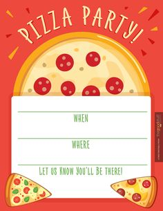 hostess helpers free pizza party printables kids pizza party invitation thegoodstuff