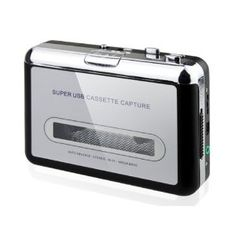 GadgetZone Super USB Cassette-to-MP3 Converter Capture  - Amazon.ca CAN$20.99