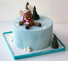 Tarta de Navidad:Tartas Decoradas en Madrid Síguenos Facebook: https://www.facebook.com/starcakes.es Instagram: http://instagram.com/starcakesmadrid