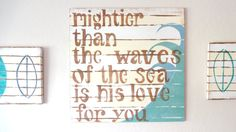 Baby Bye The Sea Surfer Boy Bedroom Décor His by MeetMeByeTheSea, $95.00