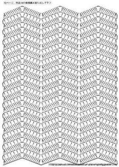 Resultado de imagem para só graficos de pontos de croche