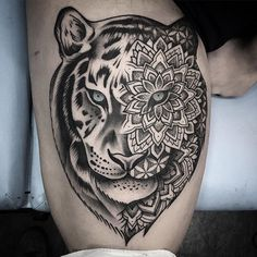 Chris Bint - a first-class tattoo artist from the studio Silver Needles, based in London (UK).