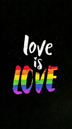 love is love Lgbt Quotes, Lgbt Flag, Pansexual Pride, Gay Aesthetic, Rainbow Wallpaper, Rainbow Aesthetic, Lesbian Pride, Lgbt Community, Rainbow Pride