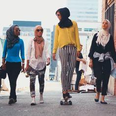 """¿Conoces a los Mipsterz? ¿O a la revista llamada la """"Vogue del Velo""""? Mira cómo los musulmanes están haciendo propia su cultura... - Musulmanes desafiando estereotipos los Mipsterz y la Vogue del velo - El Definido"""