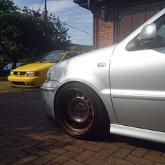 Roller painted VW 6N OpenAir and 6N2 GTi polo's