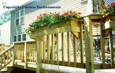 Flower Boxes For Deck Want Dust To Make This For Back 400 x 300
