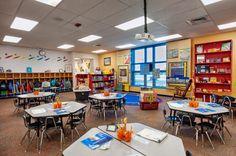 Classroom showing FEMA Shutters
