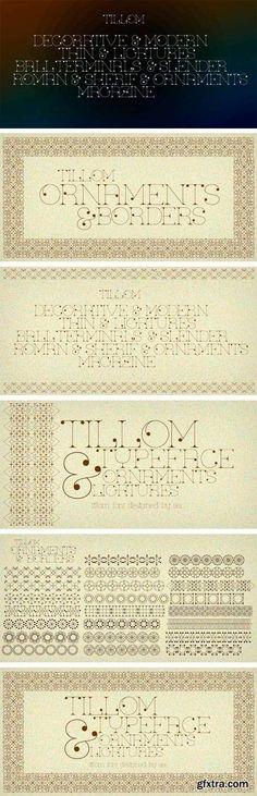 Tillom Font Family