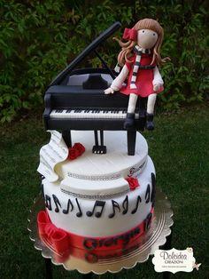 Torta pianoforte - Piano cake