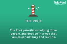 I am The Rock.  Get your personality postcard from...