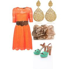 Possible outfit #2 for brother's graduation, created by krisselmlopezcamacho on Polyvore