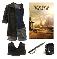 The Scorch Trials (2) by erikasevilla on Polyvore featuring Timberland and Castro NYC