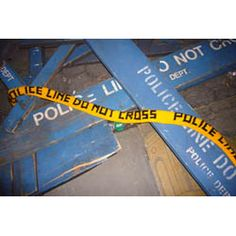 robotclothes - knitted police tape