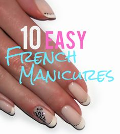 I love french manicures! They are so simple and classy. And they go with everything. But sometimes I want to mix it up a bit so I have found 10 different twists on the basic French Manicure. I did …
