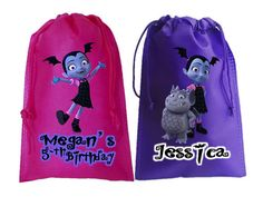 Check out this item in my Etsy shop https://www.etsy.com/listing/571933112/vampirina10-personalized-favor-bags