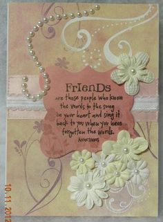 Card: Special Friend
