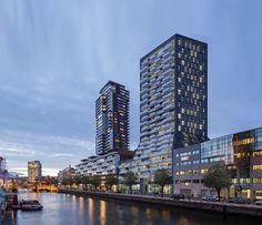 Картинки по запросу Cité wooncomplex Rotterdam Kop van Zuid