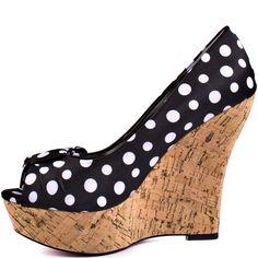 Shelly - Black Polka Dot  Paris Hilton $94.99