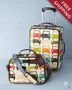 cuuuutest luggage.   http://www.garnethill.com/orla-kiely-travel-set/gift-shop/gifts-for-her/accessories-jewelry/187442