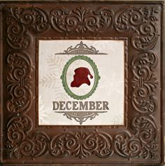 CHerInspirations: We are loving this new mantel piece made with the Teresa Collins December 25th Cricut Cartridge