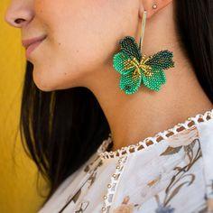 Fringe Earrings, Clay Earrings, Beaded Earrings, Crochet Earrings, Drop Earrings, Bead Jewellery, Diy Jewelry, Beaded Jewelry, Loom Beading