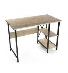 Mesa Escritorio Plegable en madera y metal de medidas Largo 108.50cm x Ancho 55.00cm x Alto 75.00cm. Perfecta para todoa la gente con problemas de espacio. Un mueble moderno y funcional que seguro no pasará desapercibido.