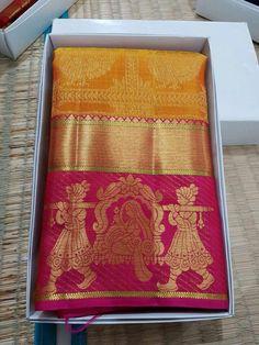 Kanchi Organza Sarees, Kanjivaram Sarees Silk, Khadi Saree, Soft Silk Sarees, Designer Sarees Wedding, Wedding Saree Blouse Designs, Fancy Blouse Designs, Kanjipuram Saree, Saree Dress