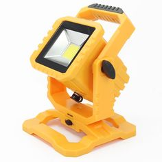 20W Rechargeable LED Floodlight IP65/IP67 Outdoor Lighting Portable Led Flood Light Spotlight Camping Fishing lighting Wall Lamp