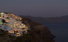 Santorini, such a beautiful place.