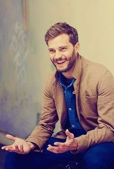 Jamie Dornan, and it has nothing to do with his role in Fifty Shades. He just looks like a genuine human being.