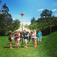 I knew my Maypole skills would come in handy one day! Our guide says it was the most impressive one she'd ever seen! #yus #maypole #hobbiton @hobbitontours #studyabroad #studyabroadwaikato #exchange #exchangewaikato #studywaikato #waikato #campuslife #studentlife #newzealand #nzsummer #kiwisummer #blessed #travel #study #nz #international #internationalstudent #newplaces #nature #sae2016 #studyabroad2016 #exchange2016 #green #teamawesome #newfriends #adventure by waikatostudyabroad