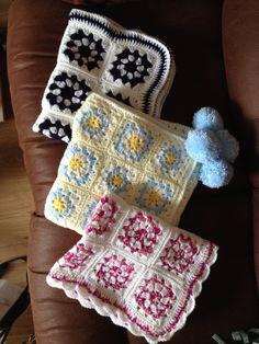 Handmade Crochet Pram Blankets