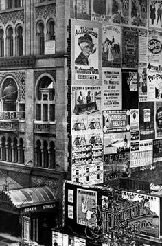 "amateurcasualvictorianist: ""The Alhambra, Leicester Square, London, 1899 Now the Odeon Cinema, the Alhambra Theatre was once the magnificent centrepiece of Leicester Square until it closed in In. London Pictures, London Photos, Old Pictures, Old Photos, Vintage Photos, Victorian London, Vintage London, Old London, Victorian Life"
