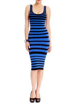 2b | Carri Midi Striped Dress
