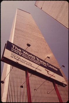 Overlooking the Hudson River in Lower Manhattan, the Towers of the World Trade Center Soar Skyward to a Height of 1,350 Feet 05/1973