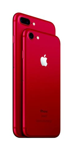 Apple launches red iPhone 7 - The Verge