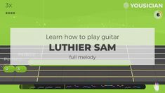 Learn how to play Luthier Sam by The Yousicians on guitar with Yousician. Easy Guitar Songs, Learn To Play Guitar, Listening To You, Playing Guitar, Acoustic, Motivation, Learning, Studying, Teaching