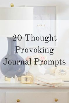 20 Thought-Provoking Journal Prompts - Elana Lyn 20 Thought Provoking Journal Prompts<br> Sick of staring at a blank page? Use these journal prompts to start reflecting. Journal Writing Prompts, Journal Pages, Journal Ideas, Journal Topics, Gratitude Journals, Daily Journal, Journal Entries, Bullet Journal Inspiration, Writing Inspiration